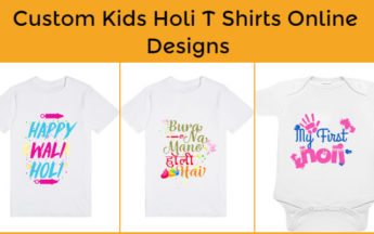 Baby Holi Tees | Buy 100% Custom Kids Holi T Shirts Online Designs