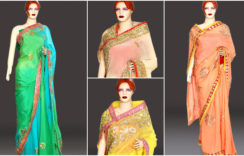 Latest Designer Jaipuri Saree Collections Rajasthani
