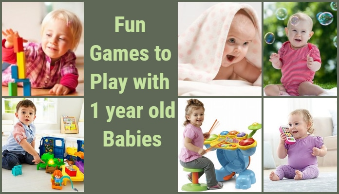 Fun Play Games 1 year old Babies, Activities for one year olds