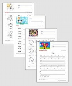 Kids Summer Worksheets