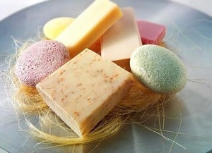 Scented Soaps Baby Shower Favor Boys