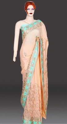 Indian Wedding Heavy Work Bridal Saree