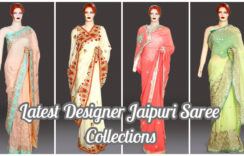 Latest Designer Jaipuri Saree Collections | Rajasthani Gota Work in Saree