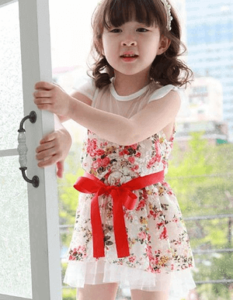 lighter/brighter Colors baby dress
