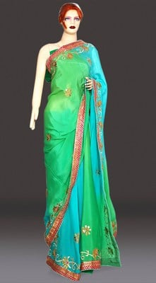 Rajasthani Heavy Gota Patti Work Designer Saree