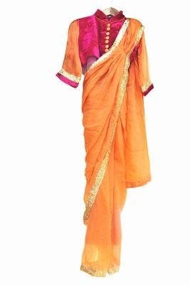 Ready to Wear Baby Girls Saree