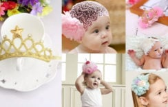 Baby Headbands | Princess Crown Tiara For Little Girls, Newborn, Infant, Toddler