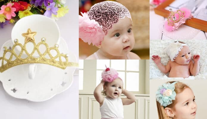 Baby Headbands Princess Crown Tiaras Headbands Baby