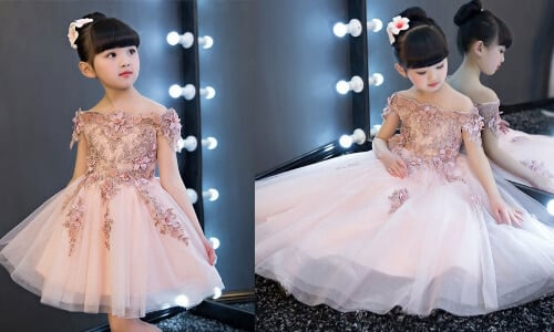 Baby Girl Birthday Frocks Online Shopping India - Kids Birthday Party dress