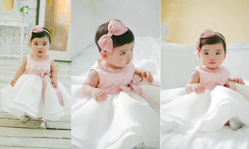 528f5bd696f8 Stylish Birthday Frocks for Baby Girl