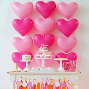 Baby Hearts Summer Birthday party theme