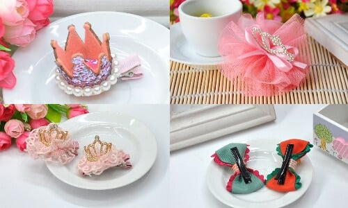 Beautiful Newborn Baby Hair Clips
