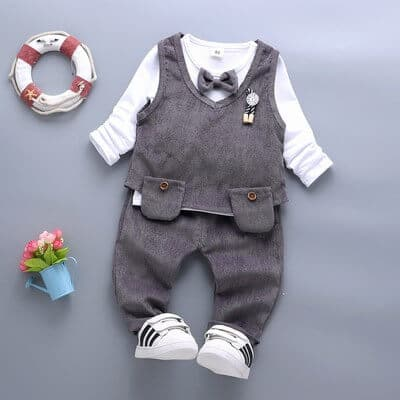 Boys Wedding Page Boy Suits, formal birthday Outfits - Baby Boy Dress Suit