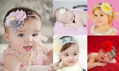 Cute Baby Flower Headbands Online