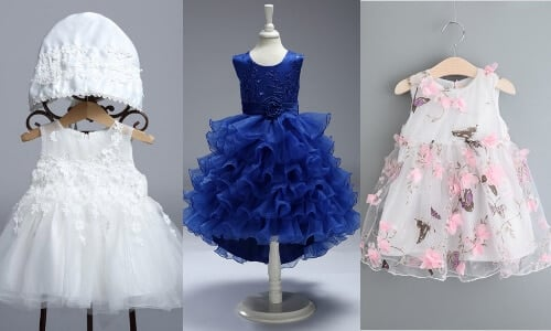 Little Girl Indian Wedding Wear Frocks Exclusive Collection, Baby Boutique