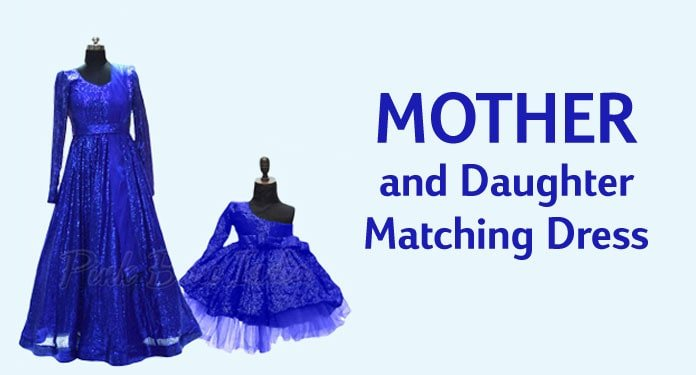 Mother and Daughter Matching Dress