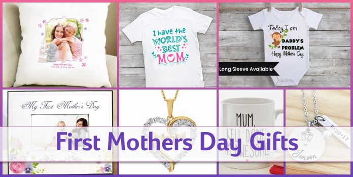 First Mothers Day Gifts for New Moms