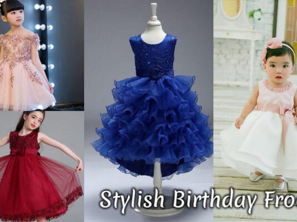 Stylish Birthday Frocks for Baby Girl  Kids Party Wear Birthday