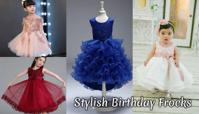 Baby Girl Birthday Frocks, Cute Party Wear Dresses, Children Birthday Frocks Online India