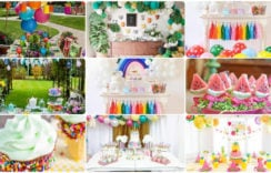 Awesome Summer Birthday Party ideas for 1 year old Boy and Girl