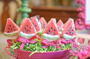 Wonderful Watermelon Baby Birthday Party