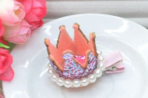 Baby Crown Hair Clip, Princess Crown,Party Crown, Birthday Hair Clip Online India
