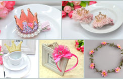 Our New Baby Girl 1st Birthday Crowns & Tiaras Headband Collection is Live!