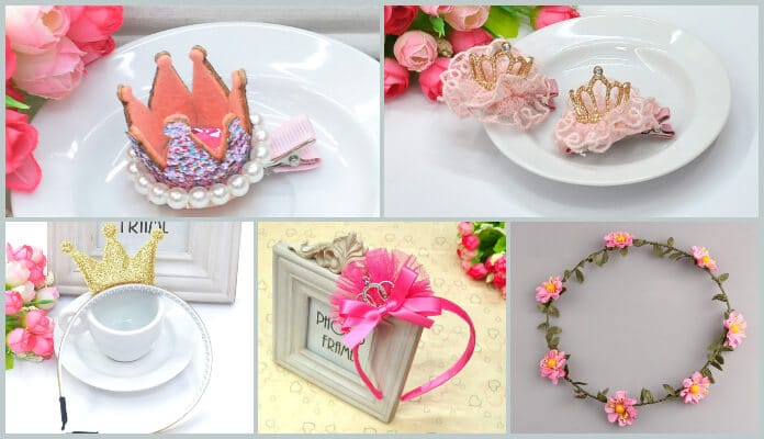 Baby Girl 1st Birthday Crowns, first birthday princess Tiaras Baby Headband India