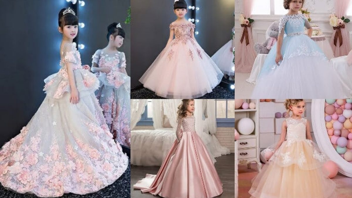 Beautiful Birthday Gowns for Baby Girl  Children Gowns Designs