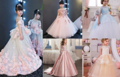 Beautiful Birthday Gowns for Baby Girl | Children Gowns Designs
