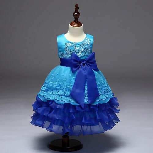 Baby Girl Birthday Party Frocks, Kids Long Birthday Gowns Online India