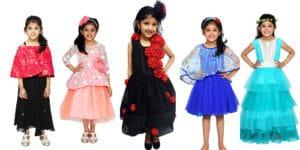 Baby Girl Designer Eid Clothes, Baby Girl Eid dresses