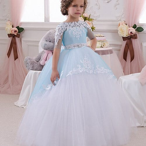 Toddlers Girl Disney Princess Ball Gowns Costume