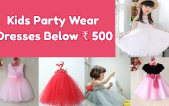 Kids Party Wear Dresses & Frocks below 500 rupees