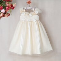Buy Kids Party Flower Girl Dress Below 500 rs