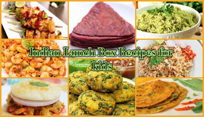 Indian Lunch Box Recipes for Kids, tiffin box recipes for school