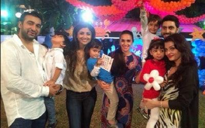 Aaradhya Bachchan 3rd Birthday Dress Image