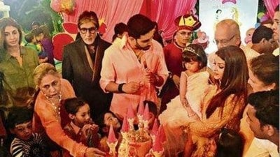 Aaradhya Bachchan's 4th Birthday Party Dress