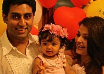 Aaradhya Bachchan first birthday dress Photo