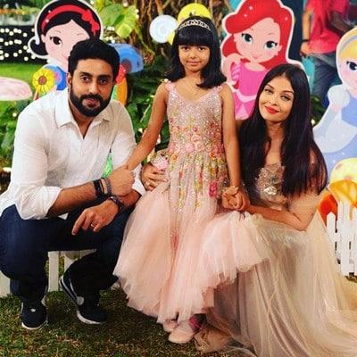 Aaradhya Bachchan's 6th Birthday Party Dress Photo