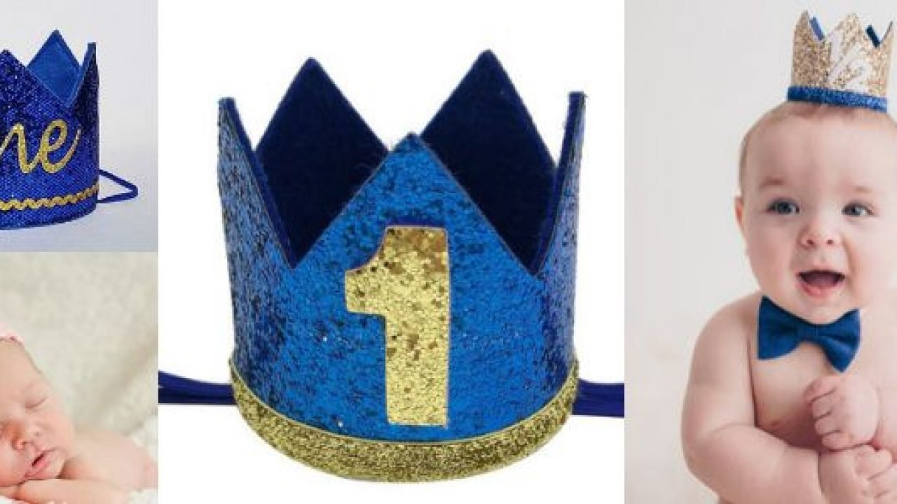 Royal Personalized Prince Or King Birthday Crown