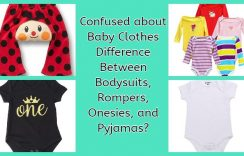 Confused about Baby Clothes Difference Between Bodysuits, Rompers, Onesies, and Pyjamas?