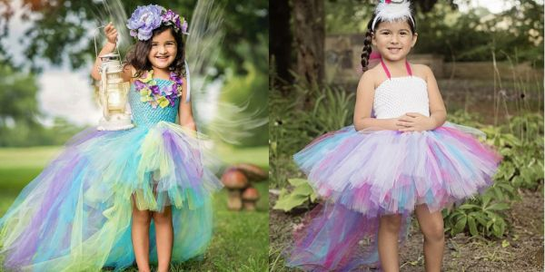 Princess Unicorn Tutu Dress, Baby Girl Birthday Unicorn Tutu Dress