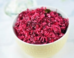 Beetroot Pulao and Beetroot Rice