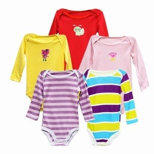 Infant Baby Bodysuit, Baby Clothes, Newborn One Piece Bodysuits India