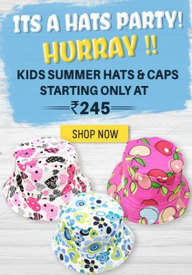 kids summer hats and caps sale India