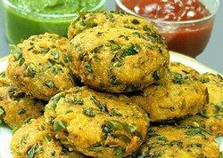 Palak Poha Pakoda Recipe for kids