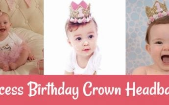 Princess Birthday Crowns & Princess Headbands for Little Baby Girl India
