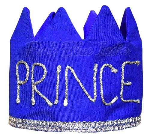 Royal Blue Little Prince Crown, Royal King Crown