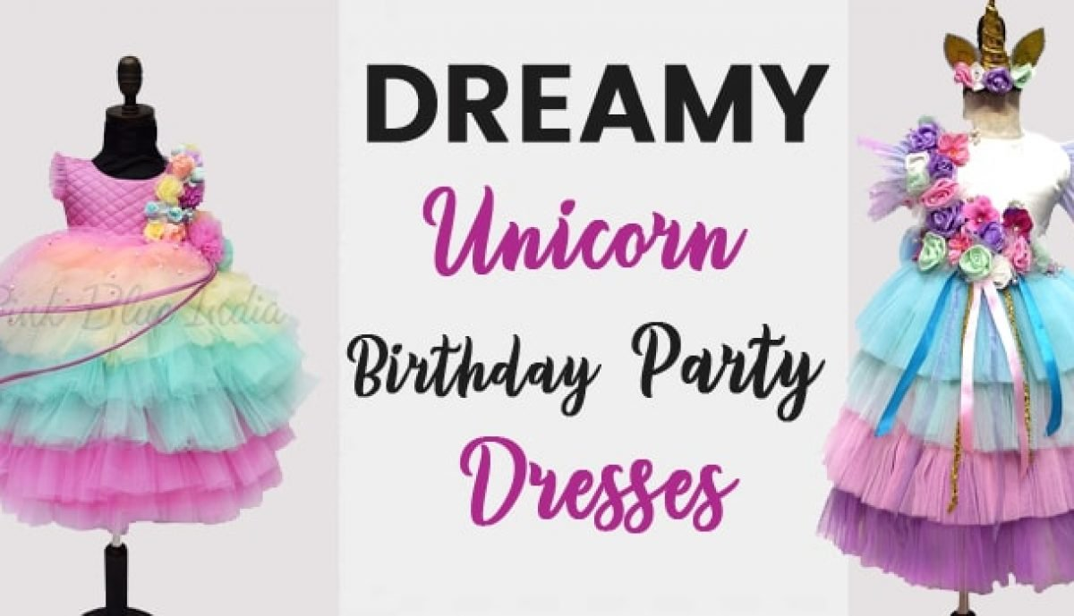 Dreamy Unicorn Birthday Party Clothes Unicorn Girls Outfits